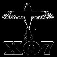 X07 surfboard logo