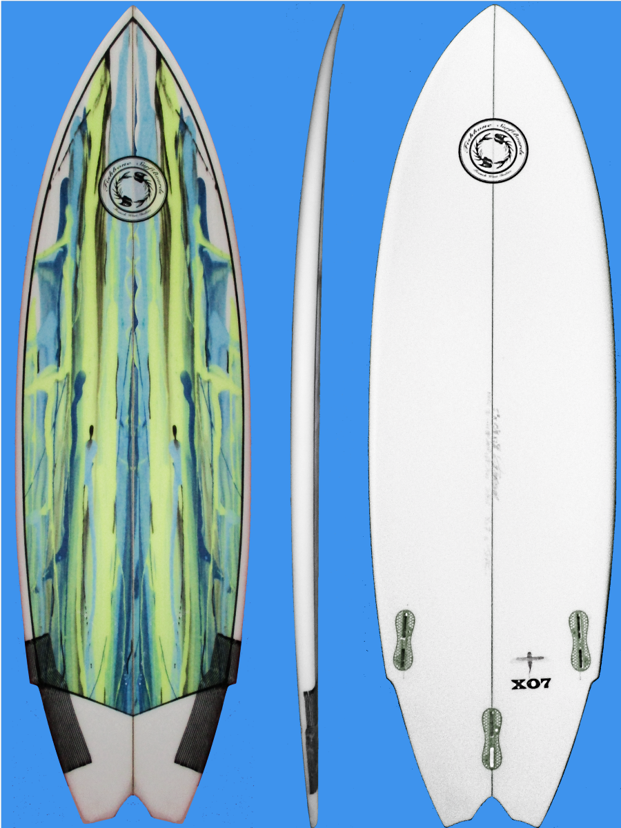 X07 small wave surfboard